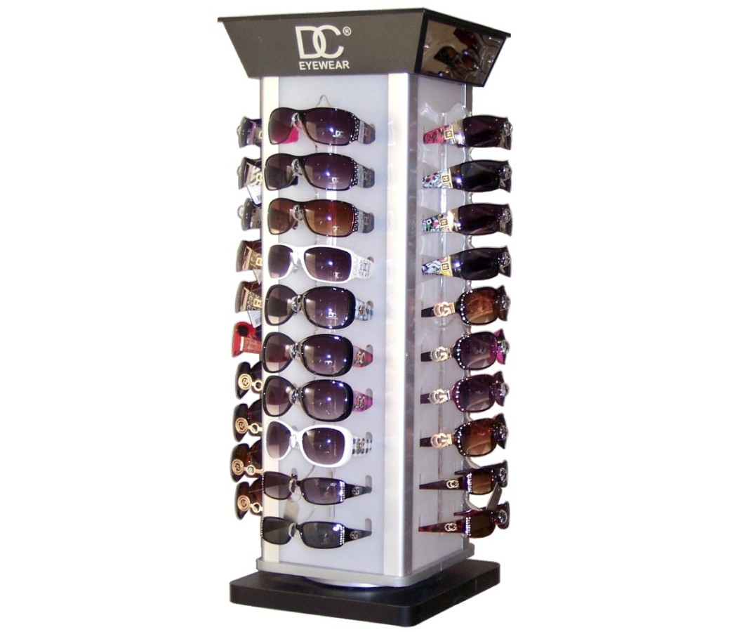 96 pairs Polarized Metal & Plastic Sunglasses with Counter Stand Choice