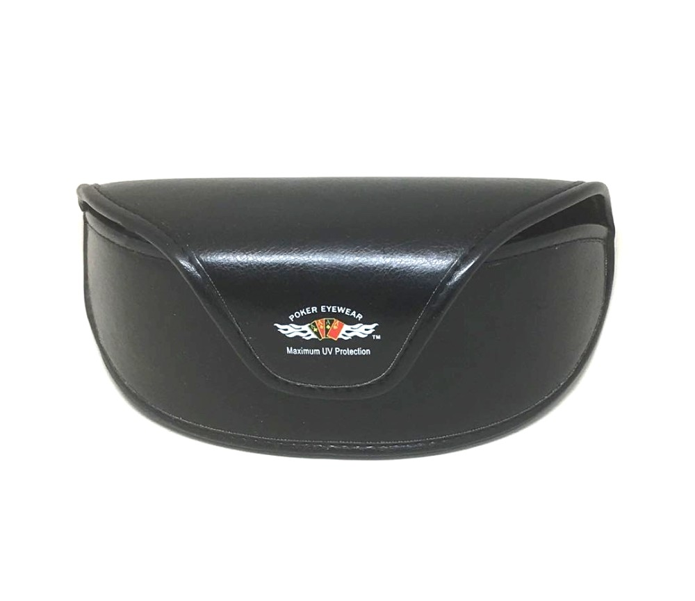Sunglasses Leather Case 3092L-Poker