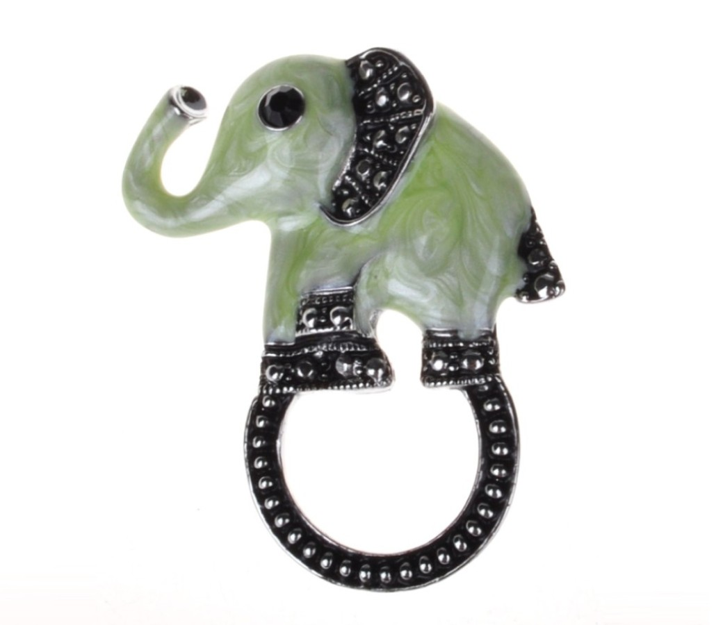 Fashion Eyewear Brooch - Elephant ACC-EH0009