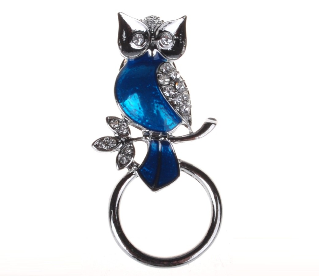 Fashion Eyewear Brooch - Owl ACC-EH0192