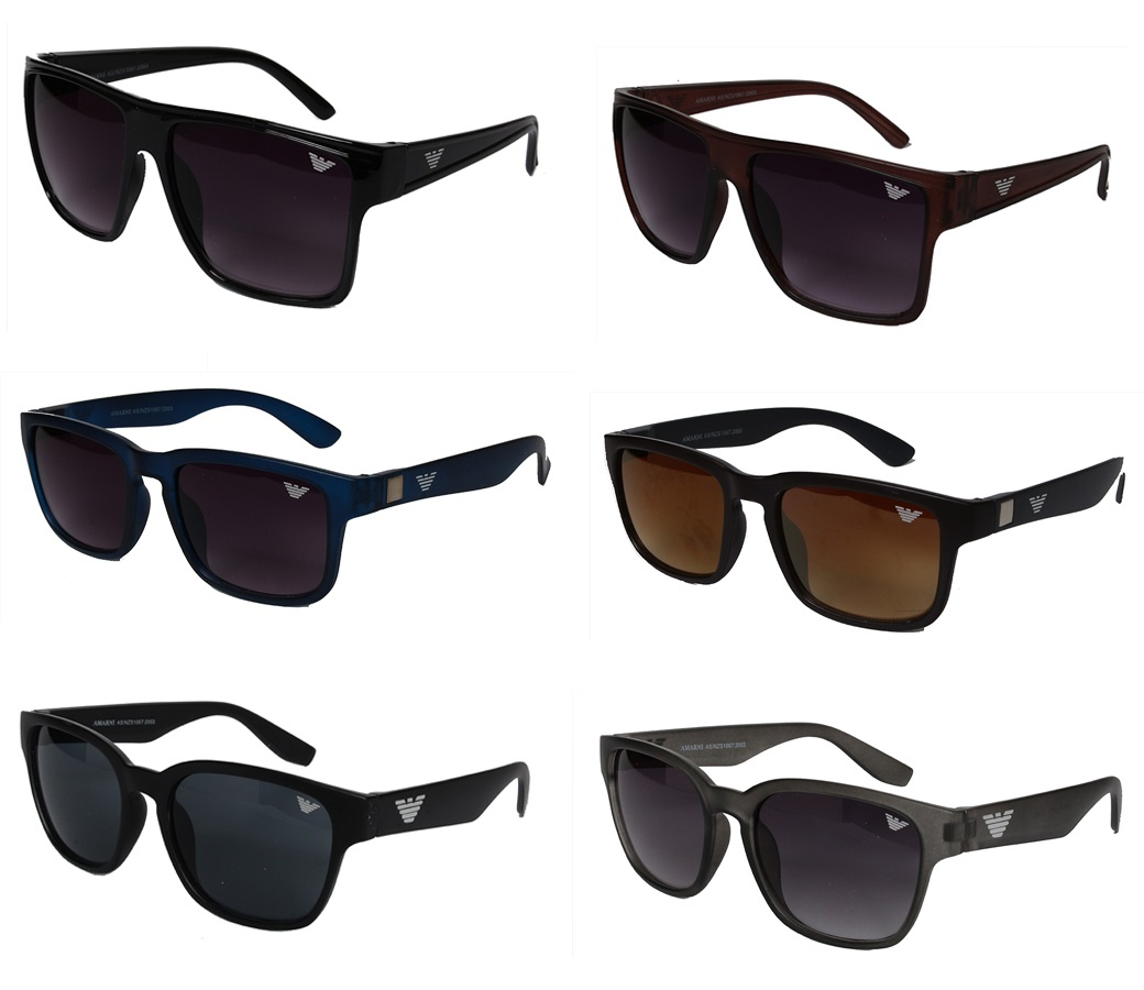 AM UV400 Sports Fashion Sunglasses 3 Style Assorted AM604/605/606