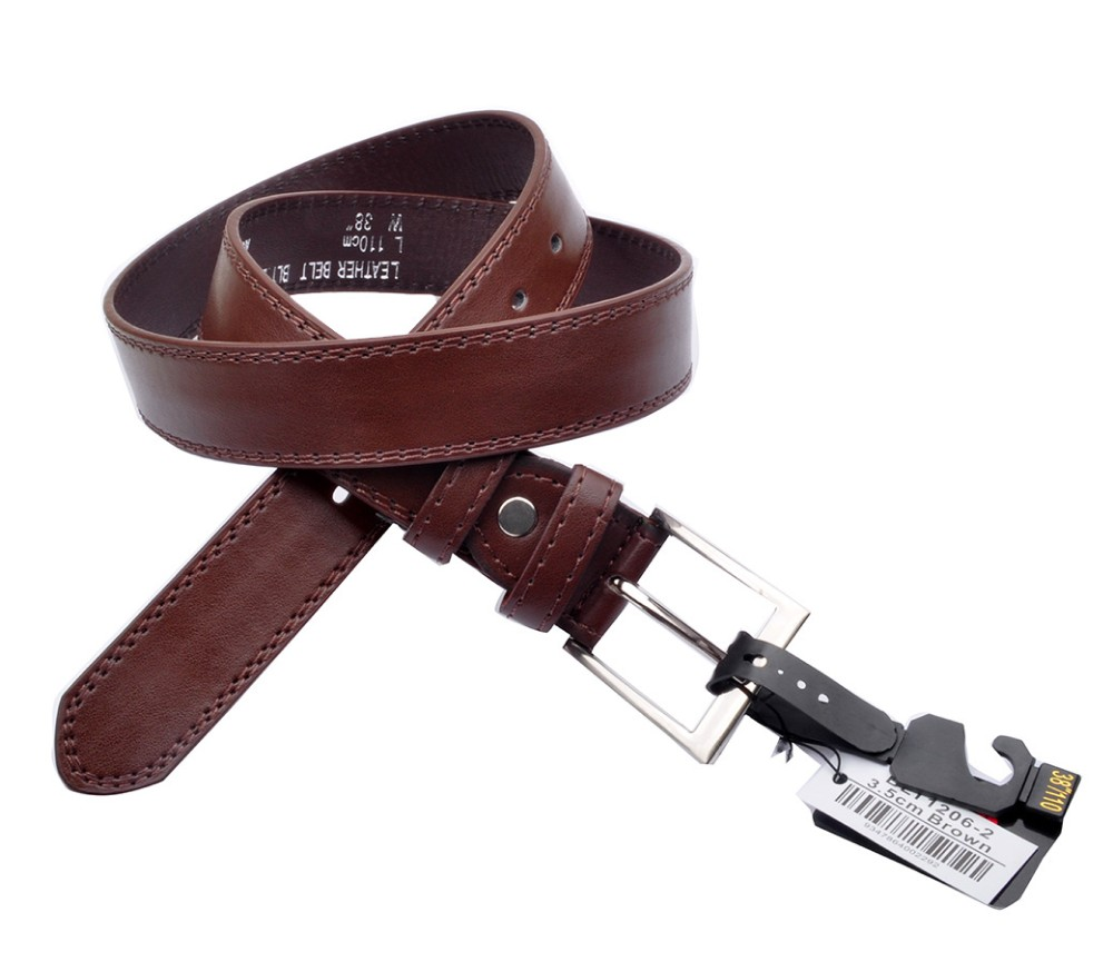 Bulk Buy Belts (3.5cm) Brown BLT1206-2
