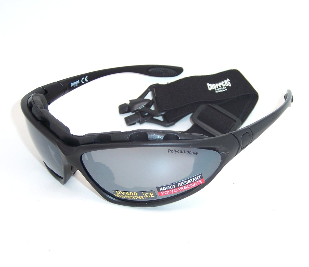 Convertible Goggles Sunglasses (Anti-Fog Coated) 91730-SMM