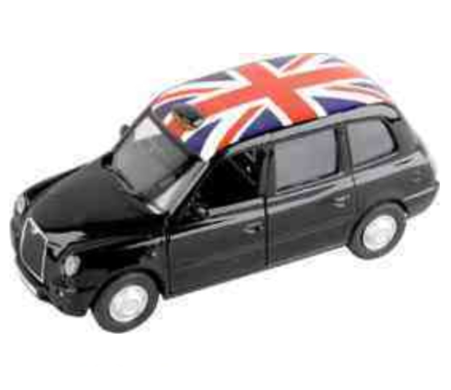 London Taxi TX4 1:36 Diecast Models DP5041/43D