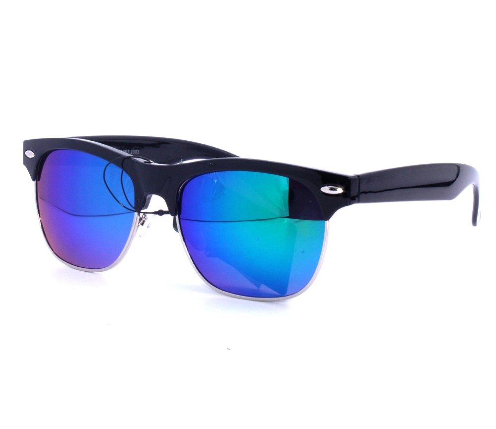 Designer Fashion Metal Tinted Lens Sunglasses FM2114-2