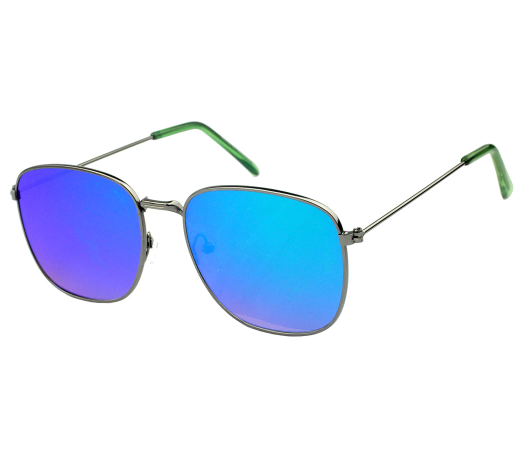 Designer Fashion Metal Sunglasses FM2126