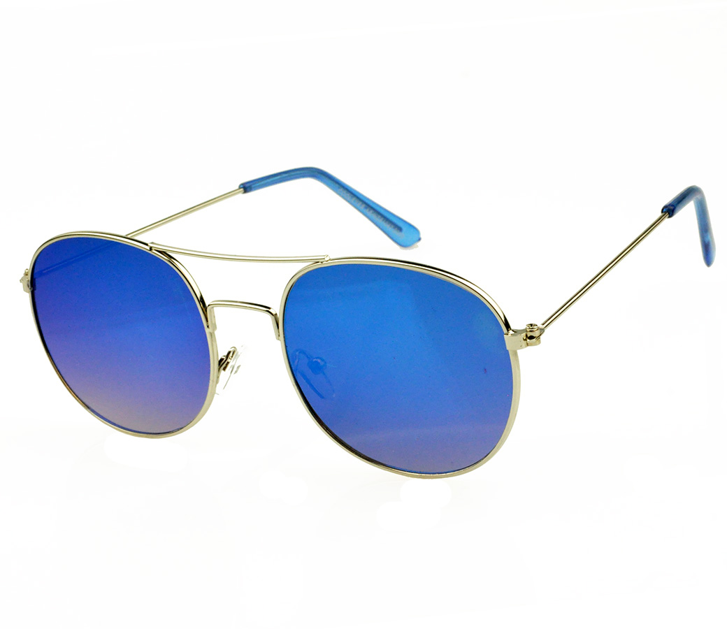 Designer Fashion Metal Sunglasses FM2128