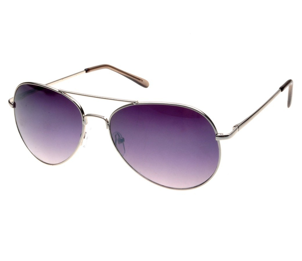 Aviator Metal Sunglasses (Spring Temple) RB004-1