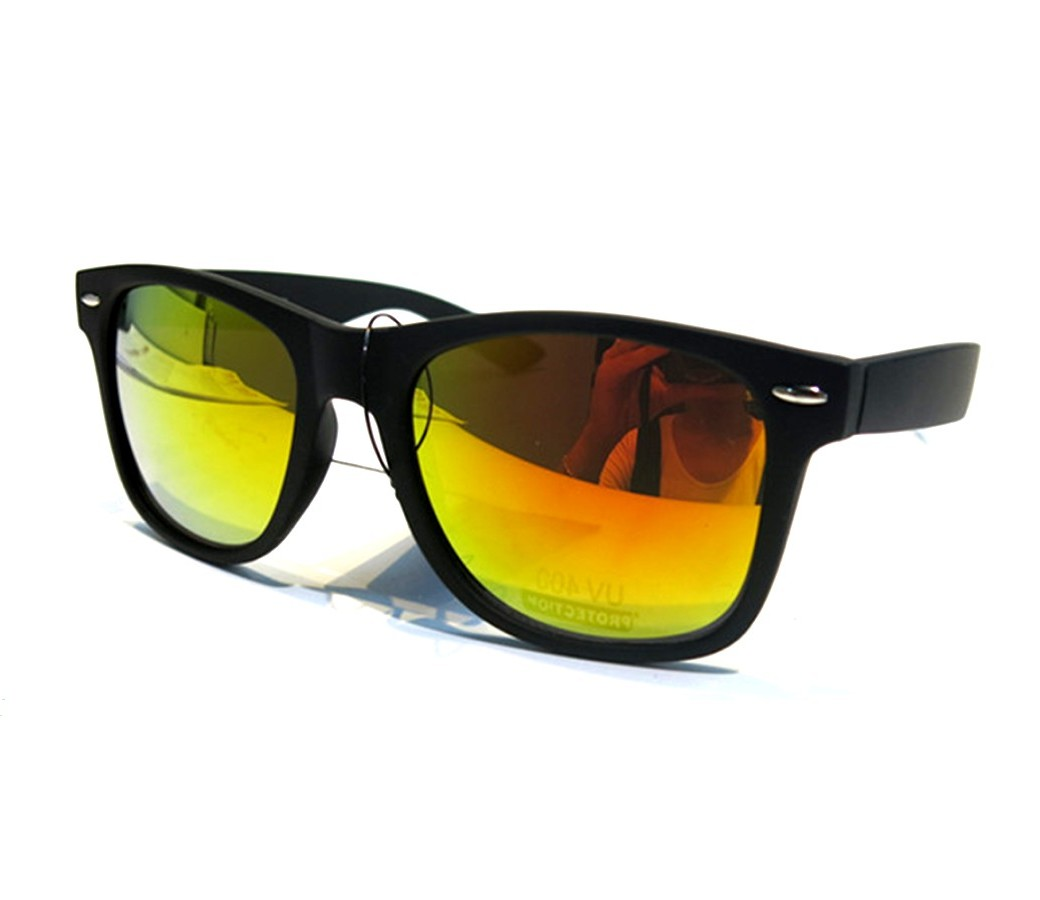 Fasion Sunglasses Large Size (8 Asst. Colors, Rubber Paint) FP1068-5