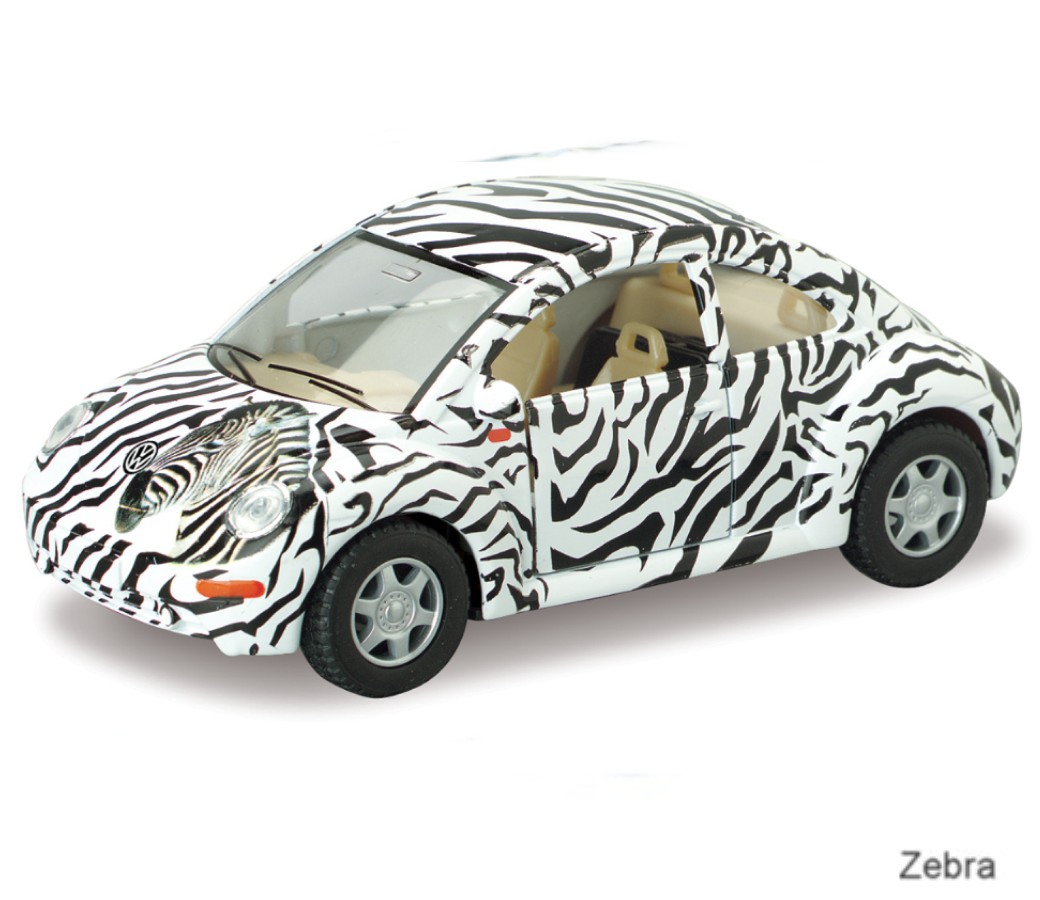 "1:32 5"" VW New Beetle with printing KT5062D"