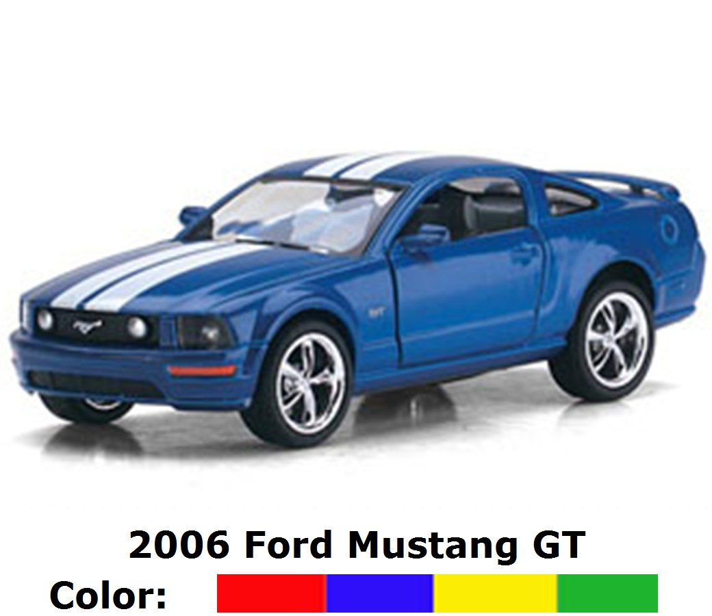 Ford Mustang GT with Print 1:38 KT5091DF