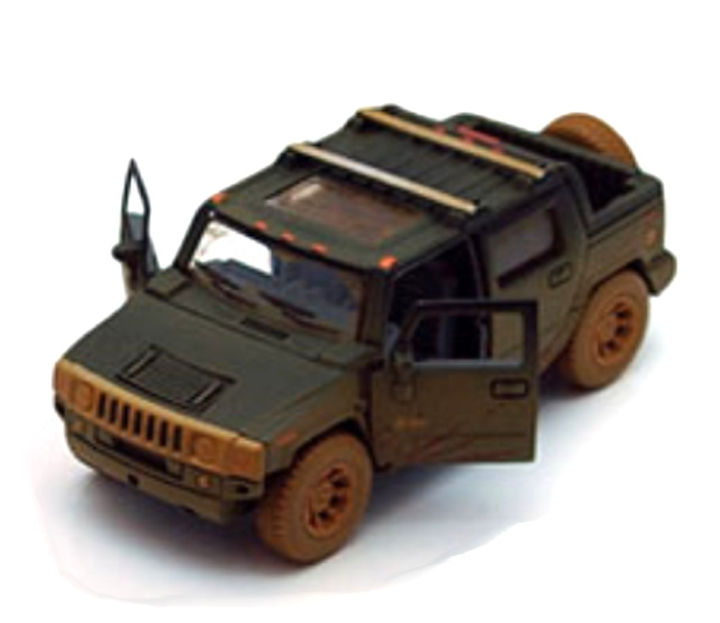 "1:40 5"" Hummer H2 SUT Pickup (Muddy) KT5097DY"