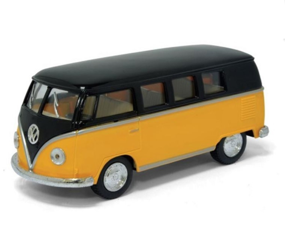 "1:32 5"" 1962 VW Classical Bus (Black Top) KT5376D"