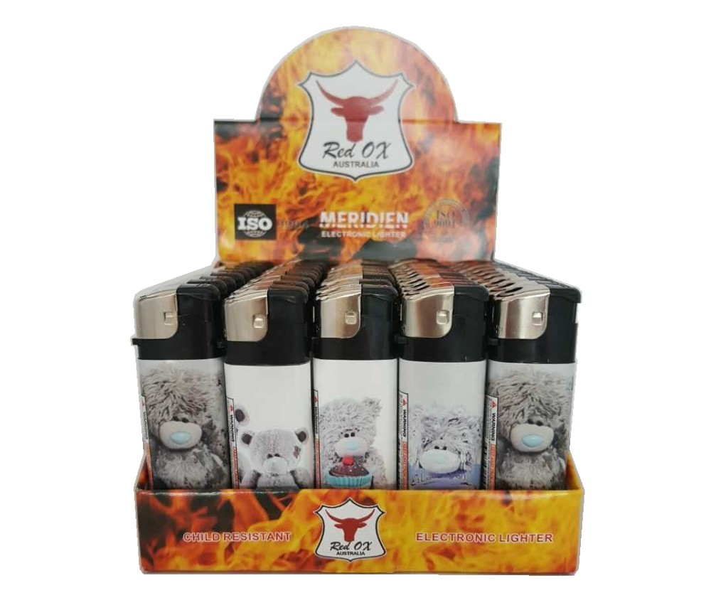 Teddy Electroni Gas Refillable Lighters RF-834-Teddy