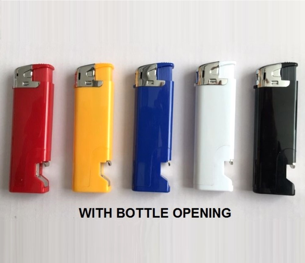 Bottle Opner Electronic Gas Refillable Lighters RF-QMD-505TC