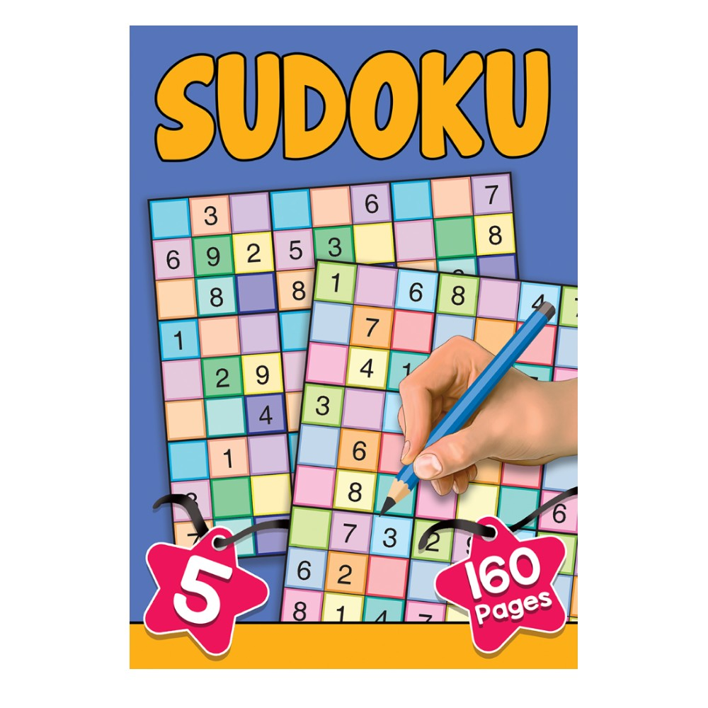 160 Pages Sudoku  Book 5 (MM00109)