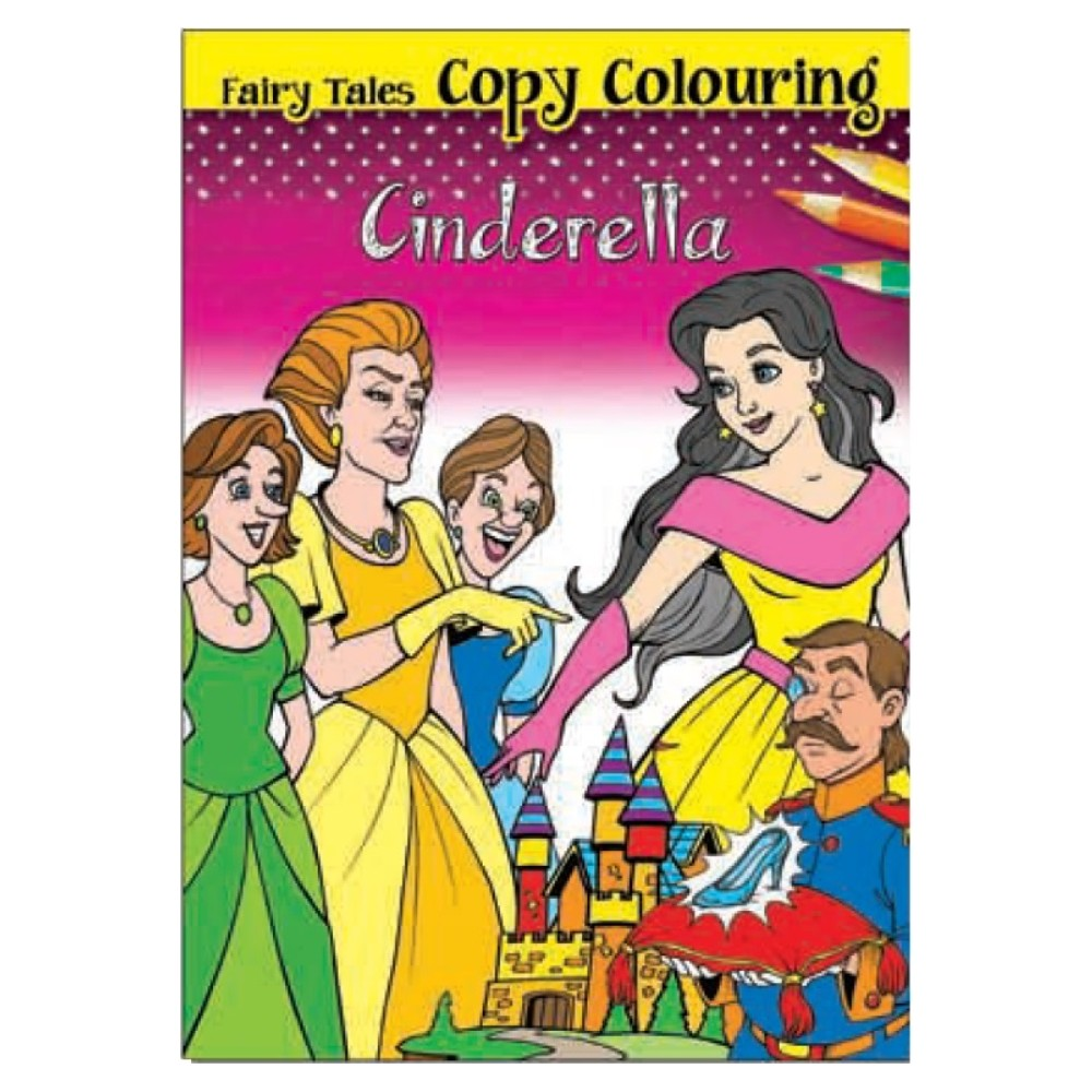 Fairy Tales Copy Colouring Cinderella (MM01775)