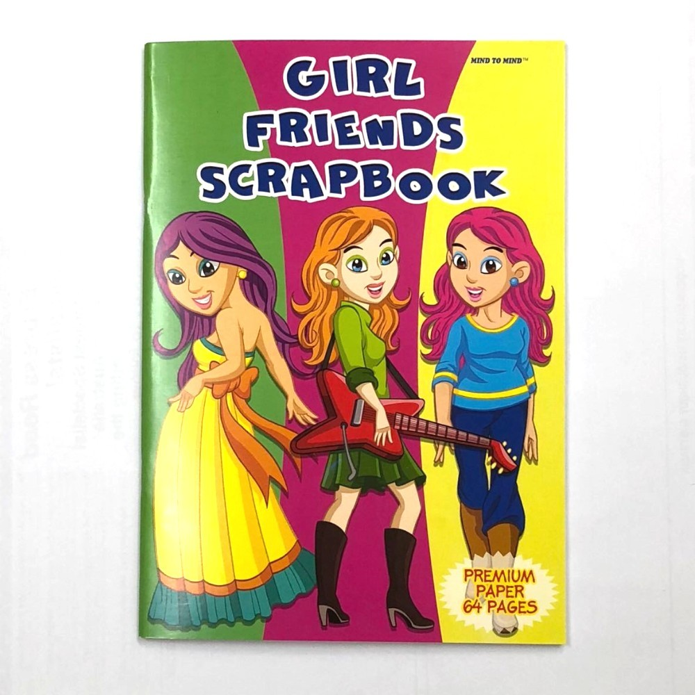 Girl  Scrapbook Jumbo 64 Pages 335x240mm MM03625