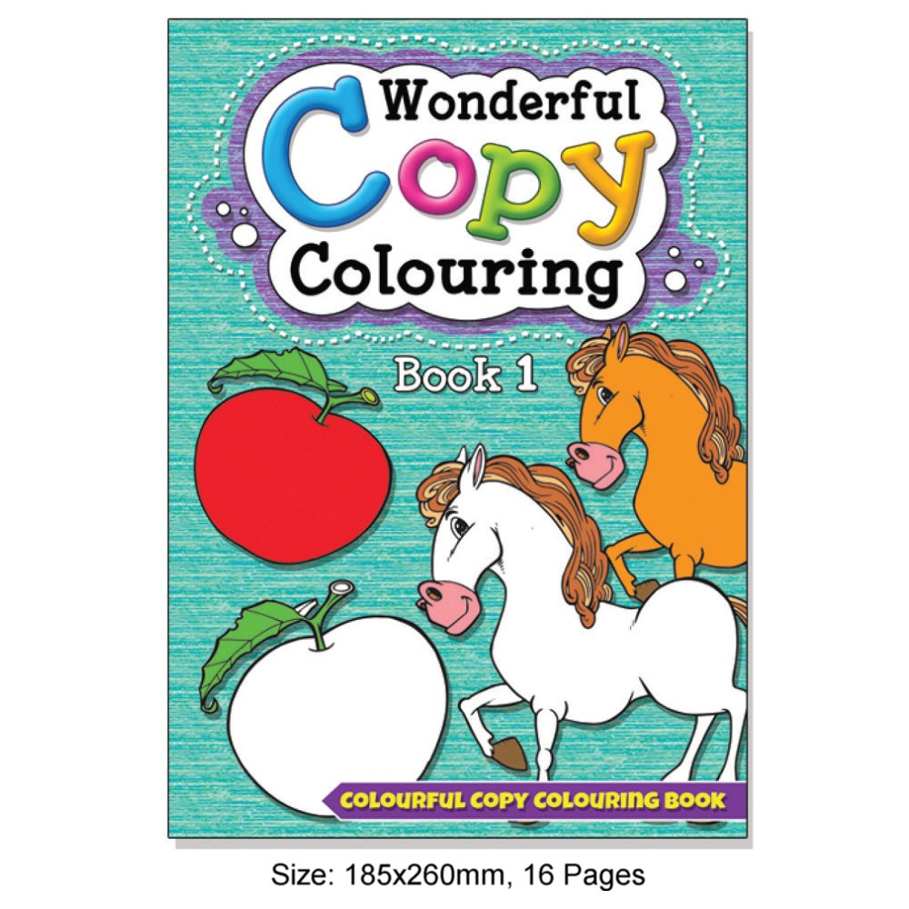 Wonderful Copy Colouring Book 1 (MM08301)