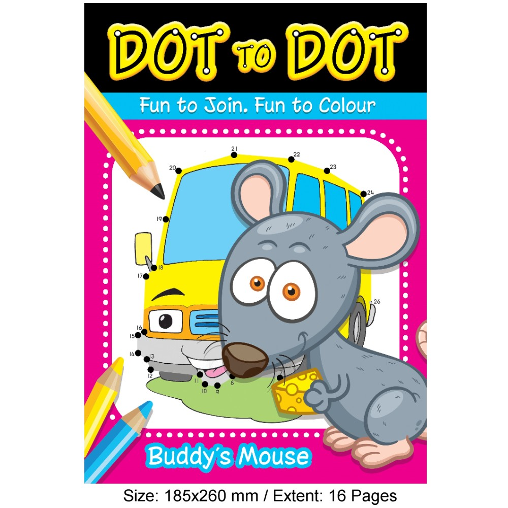 Dot To Dot Buddy's Mouse (MM18933)
