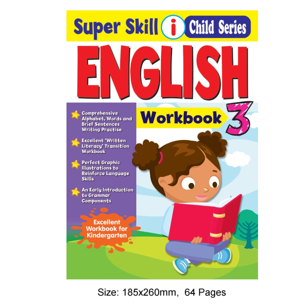Super Skill i Child Series English Workbook 3 (MM77103)