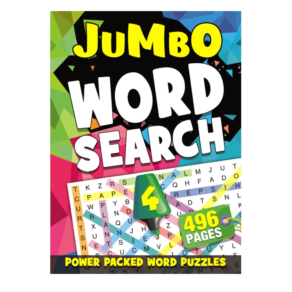 496 Pages Word Search Book 4 (MM99403)