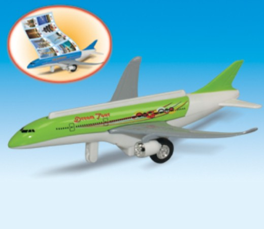 Scroll Liner Diecast Model DC-532
