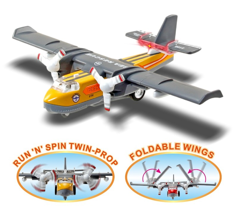 Sonic Water Bomber Diecast Models DC-8190