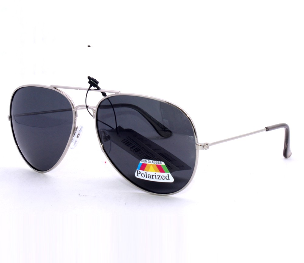 Aviator Metal Polarized Sunglasses AV007PM-1