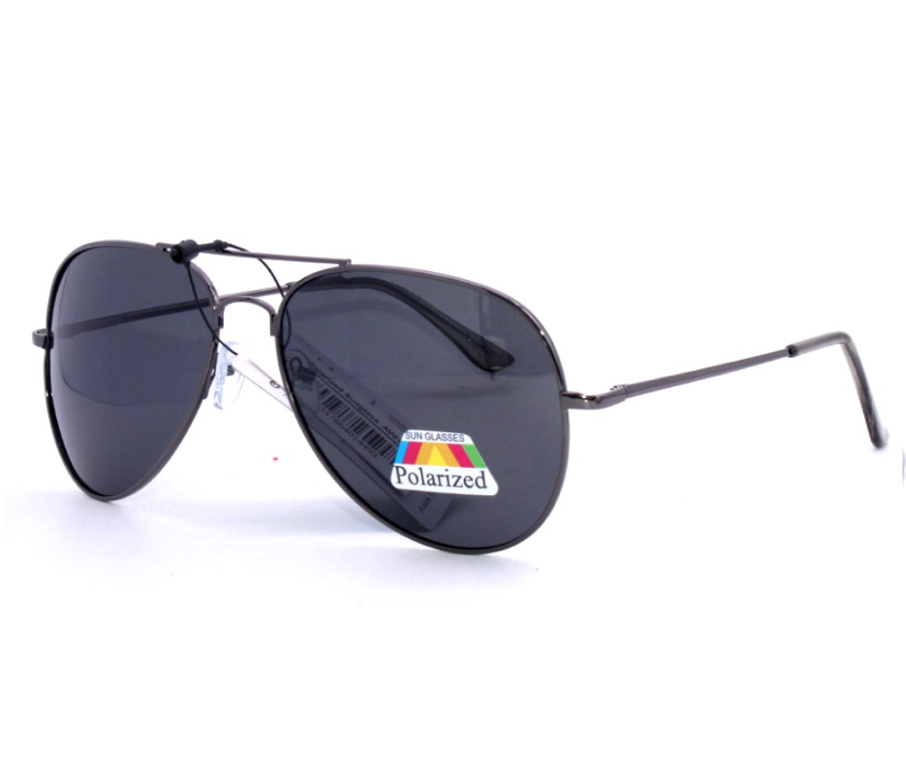 Aviator Metal Polarized Sunglasses AV010PM-1