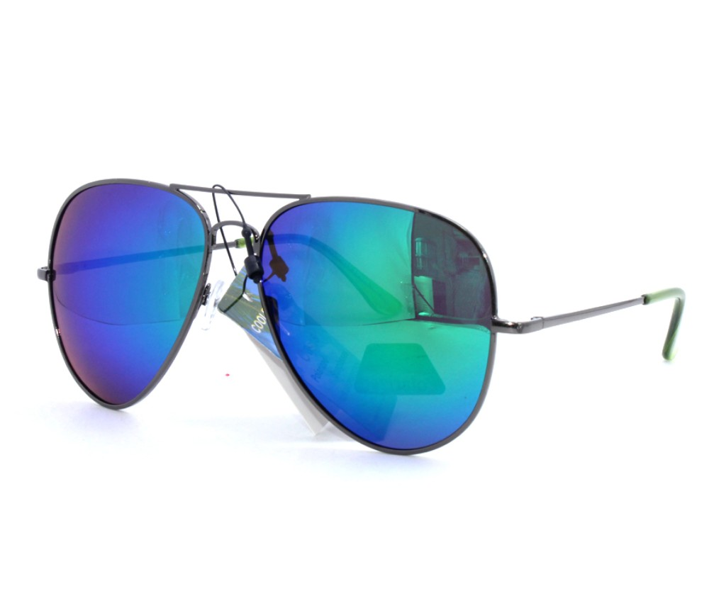 Aviator Metal Polarized Tint Lens Sunglasses AV012PM-2