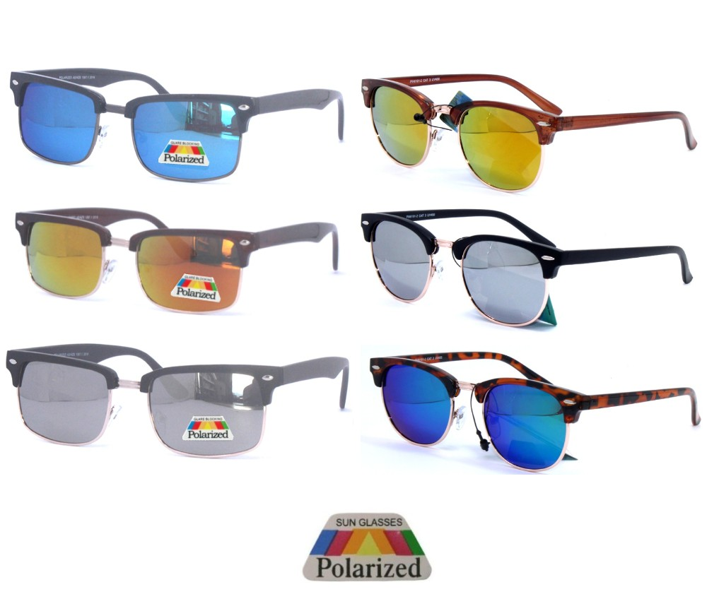 Polarized Metal Club master Tinted Lens Sunglasses Sample Pack