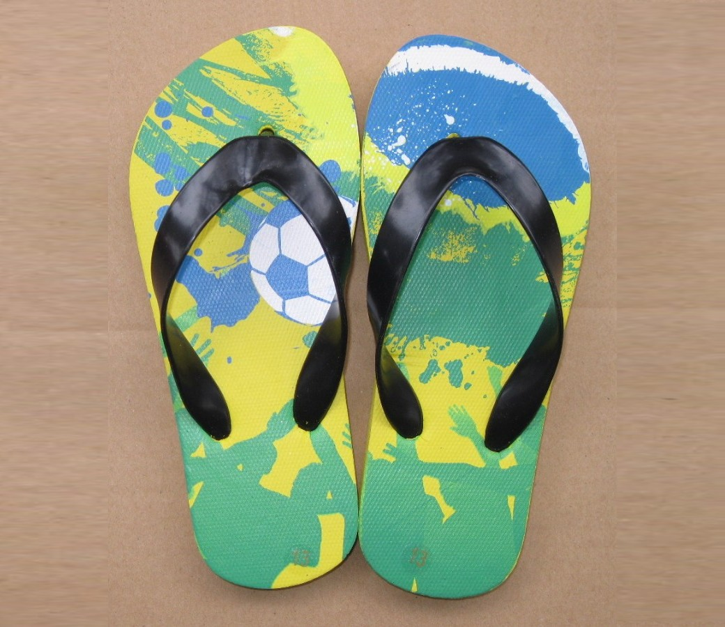 Kids Thongs - Soccer SLP-K409