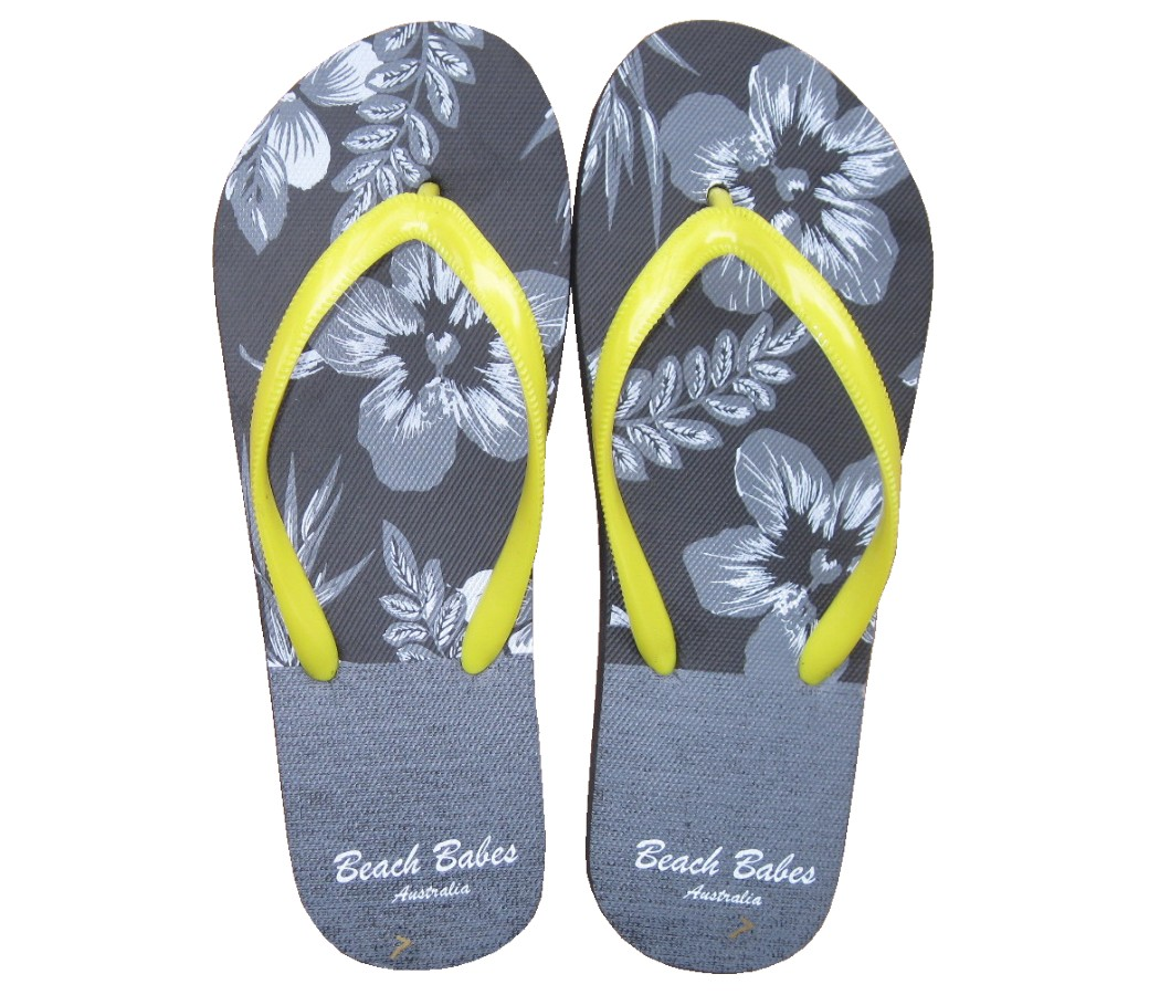Beach Sandals Ladies - Flowers SLP-W318