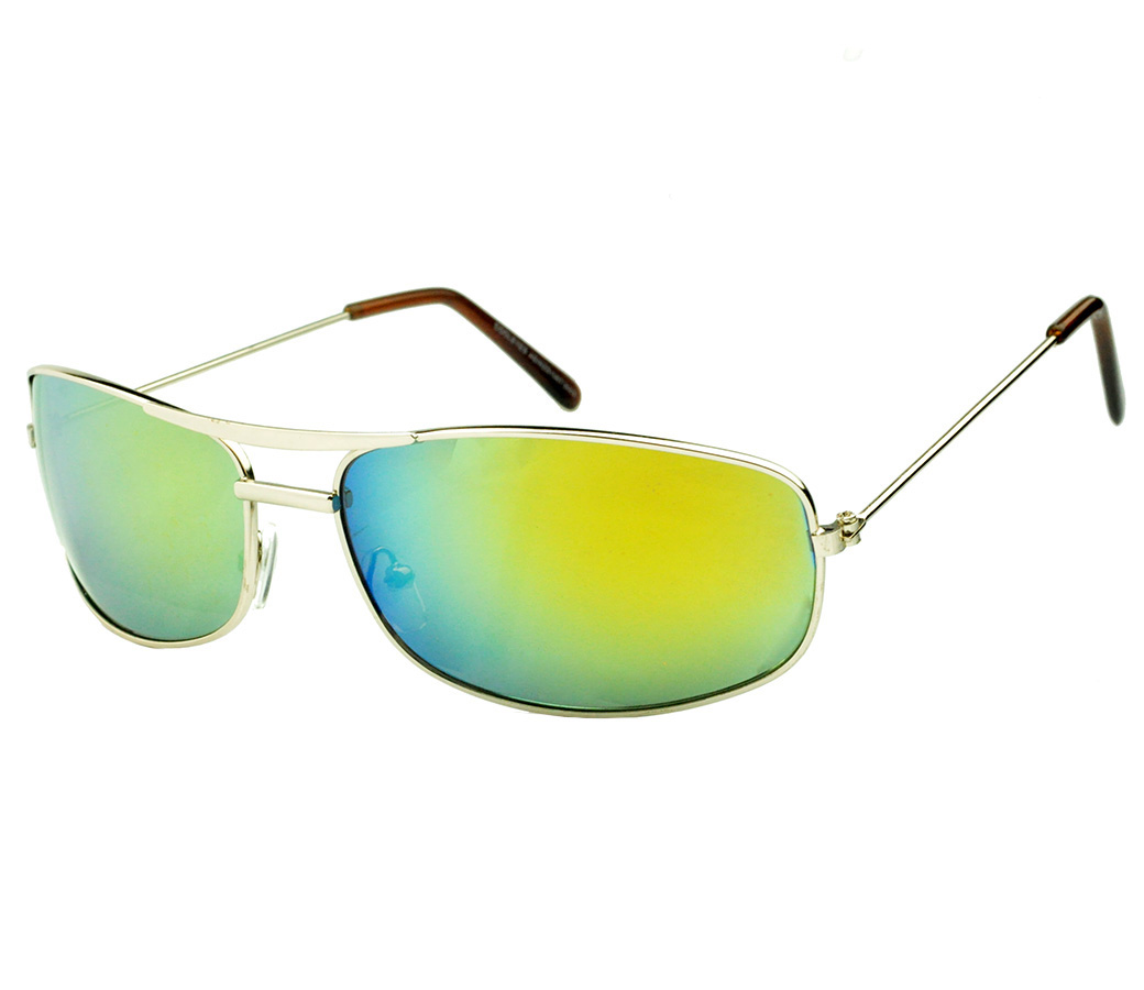 Sports Metal Reflection Mrror Lens Sunglasses SM4035-2