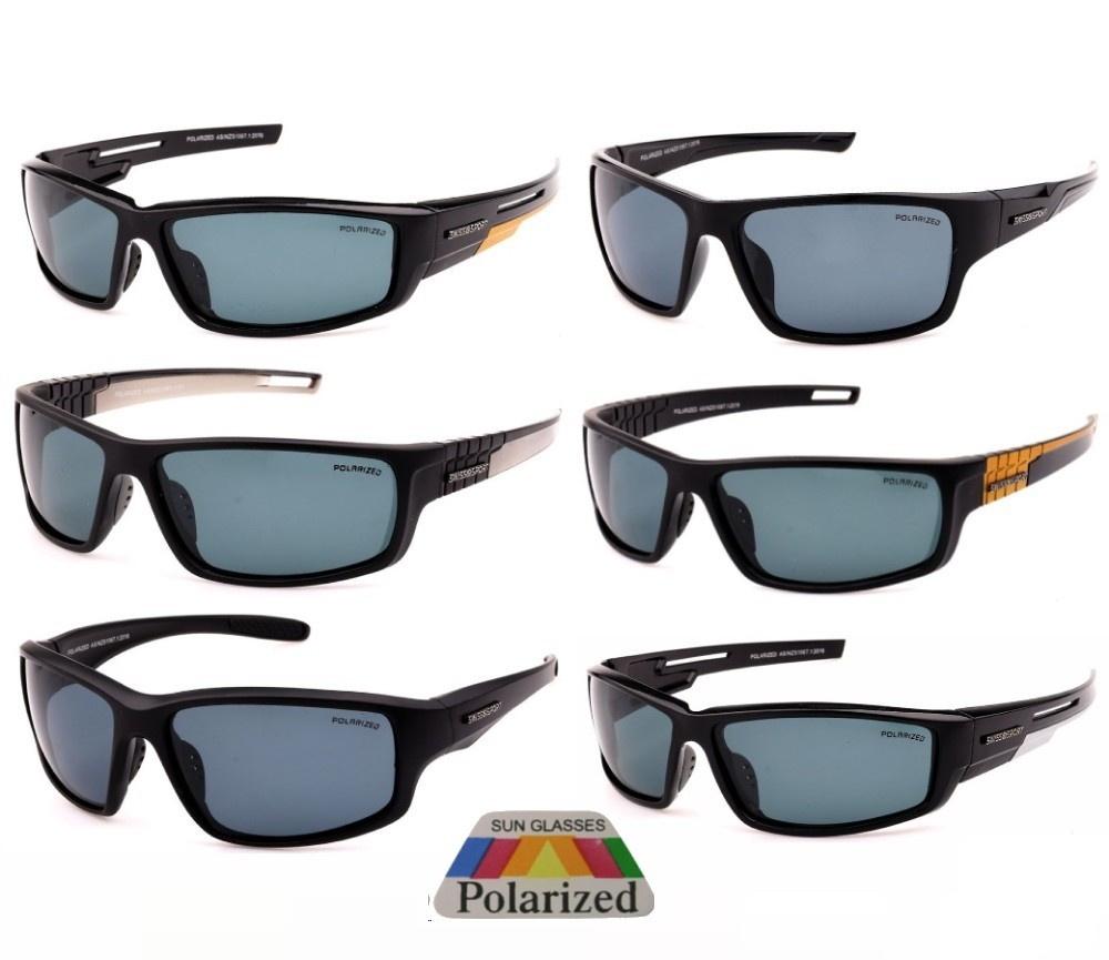 Swisssport Dark Lens Polarized Sunglasses Sample Pack