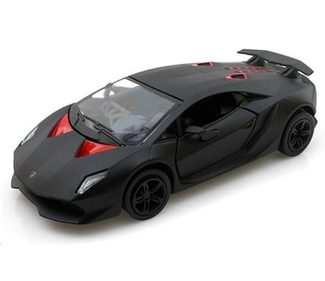 Lamborghini Sesto Elemento - 1:24 (Matt Black) MM79314MB
