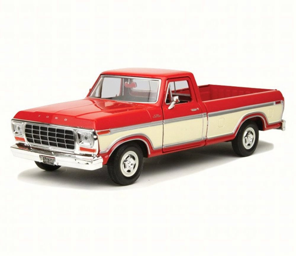 1:24 1979 Ford F-150 Pick up Custom (Red) MM79346RD