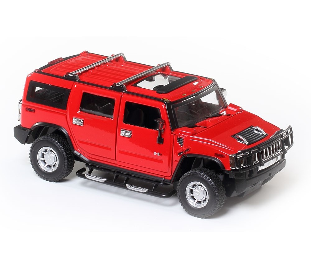 1:24 Hummer H2 Red Colour MZ26020A-RD
