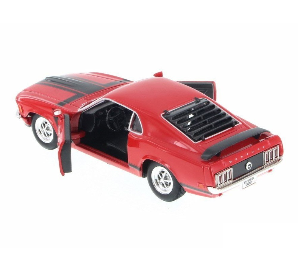 1:24 1970 Ford Mustang (Red) WL22088WRD