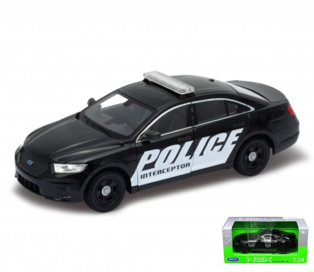 1:24 Ford Police Interceptor (Black) WL24045W