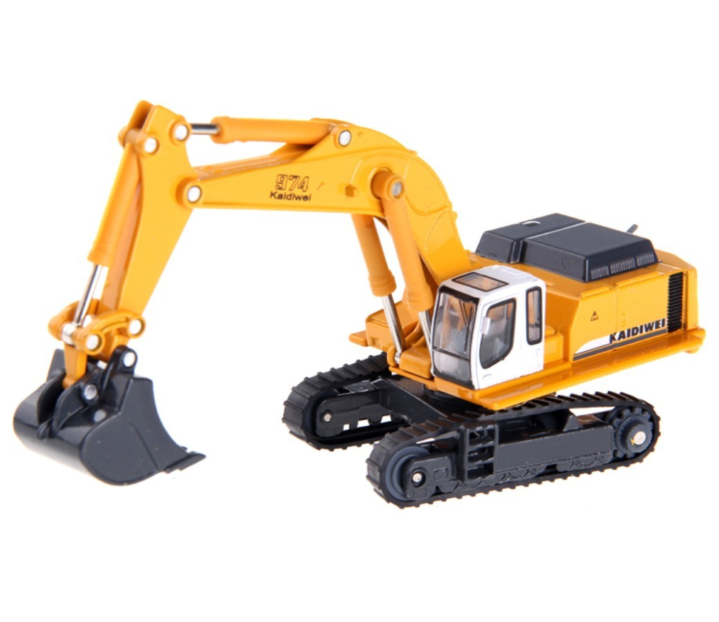 Tracked Hydraulic Excavator 1:87 Heavy Diecast Model KDW620006D