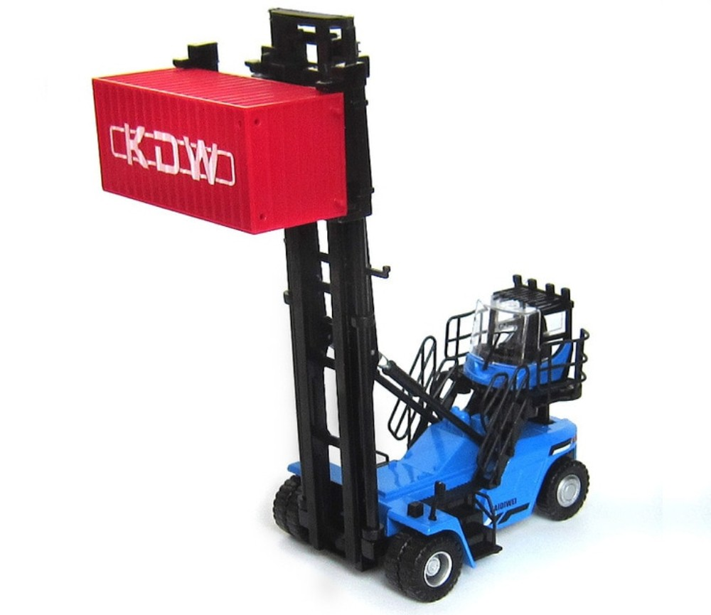 Container Stacker Machine 1:50 Heavy Diecast Model KDW625049W